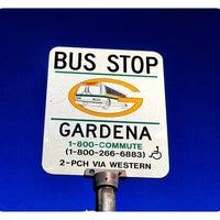Photo taken at GARDENA MUNICIPAL BUS STOP by TONY A. on 12/24/2011