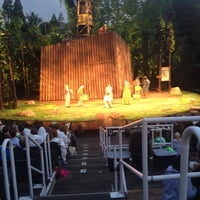 Photo taken at Delacorte Theater by Keith N. on 6/7/2012