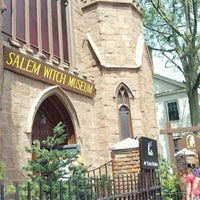 Photo taken at Salem Witch Museum by Marsha W. on 8/11/2012