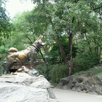 Photo taken at Balto Statue by Kelly H. on 9/17/2011