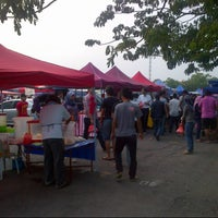 Photo taken at Bazaar Ramadhan Seksyen 7 by kumir a. on 8/13/2012