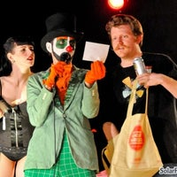 Photo taken at White Rabbit Cabaret by Solar Flare Photography on 8/25/2011