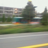 Photo taken at Eastgate Park & Ride by Larry C. on 8/8/2011