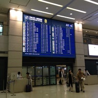 Photo taken at Arrival Exit B by Sanghyun P. on 4/28/2012