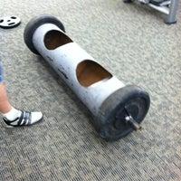 Photo taken at LA Fitness by John K. on 3/13/2012
