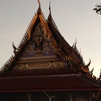 Photo taken at วัดไทร (สุราษฎร์ธานี) by Supansa P. on 6/21/2012