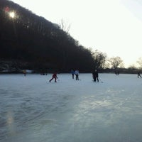 Photo taken at Jazero Bodovka by Michal on 1/28/2012