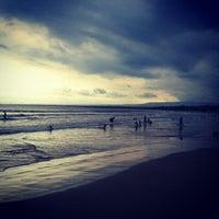 Photo taken at Pantai Pangandaran by Atep Setya A. on 8/16/2012