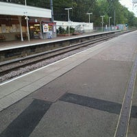 Photo taken at Hampstead Heath London Overground Station by Mike W. on 10/13/2011