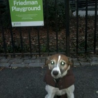 Photo taken at Central Park - Pat Hoffman Friedman Playground by Jonathan H. on 12/19/2011