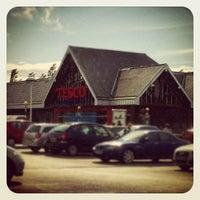 Photo taken at Tesco by Richard T. on 7/23/2012