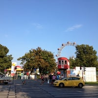 Photo taken at Praterstern by Nico P. on 8/10/2012