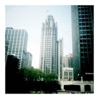 Photo taken at Chicago Architecture Foundation River Cruise by Mik S. on 5/26/2012
