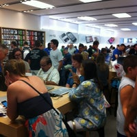Photo taken at Apple Store, Freehold Raceway Mall by Patrick K. on 7/28/2012