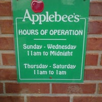 Photo taken at Applebee's by Susanna B. on 3/20/2012