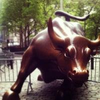 Photo taken at Wall Street by Borja V. on 5/1/2012