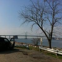 Photo taken at Throgs Neck Bridge Lookout Parking Lot by Montana on 3/22/2012