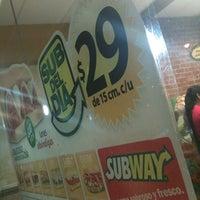 Photo taken at Subway by Sergio Arturo I. on 5/10/2012