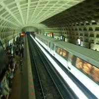 Photo taken at Pentagon Metro Station by J V. on 6/15/2012