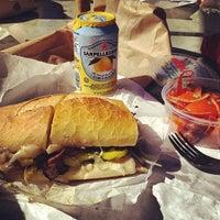 Photo taken at La Villa Delicatessen & Gourmet Shop by Vince G. on 2/24/2012