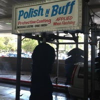 Photo taken at Lozano Brushless Car Wash by Ian S. on 5/18/2012
