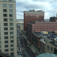 Photo taken at Embassy Suites by Hilton Indianapolis Downtown by Amanda June R. on 2/11/2012