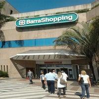 Photo taken at BarraShopping by Vinícius A. on 7/2/2012