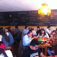 Photo taken at Waya's Tokio by Jorge Z. on 3/20/2012
