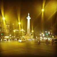 Photo taken at Place de la Nation by 3ammoo on 9/8/2012