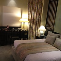 Photo taken at Orchard Hotel by Erik J. on 6/8/2012
