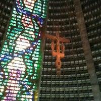 Photo taken at Catedral Metropolitana de São Sebastião by Michael M. on 7/9/2012