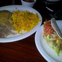Photo taken at Amigos Mexican & Spanish Restaurant by Rhonda C. on 2/26/2012