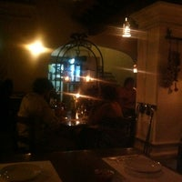Photo taken at Casa María Lombardo Restaurant by Karina S. on 4/7/2012