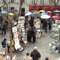 Photo taken at Montmartre by Jan K. on 12/26/2011
