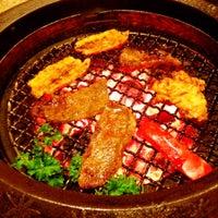 Photo taken at Tajimaya Charcoal Grill by Jeff M. on 12/29/2011