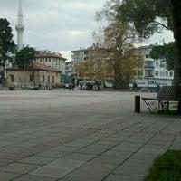 Photo taken at Cumhuriyet Meydanı by Selman D. on 11/29/2011