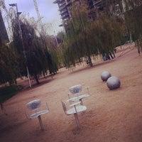 Photo taken at Parc del Centre del Poblenou by Montse S. on 10/23/2011