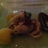 Photo taken at The Dining Room Pop-Up at Vesper by Eleanor(wokstar) H. on 5/8/2012