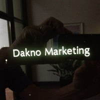Photo taken at Dakno Marketing by Bobby C. on 6/13/2012