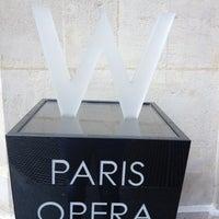 Photo taken at W Paris – Opéra by Sabrina C. on 6/23/2012
