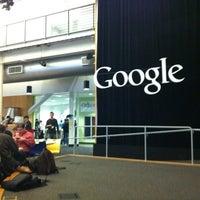 Photo taken at Googleplex - Charlie's Cafe by Kristaps G. on 3/1/2012