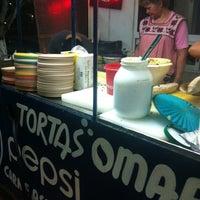 Photo taken at Tortas Don Omar by Mario L. on 3/10/2012