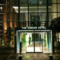 Photo taken at The Gibson Hotel by Péter E. on 7/31/2011