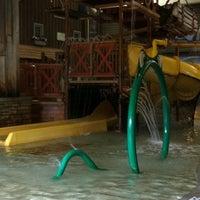 Photo taken at Ramada Williamsburg and Wasserbahn Waterpark Resort by Kelly M. on 8/14/2011
