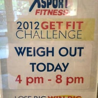 Photo taken at XSport Fitness by Francois F. on 4/30/2012