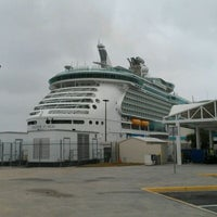 Photo taken at Royal Caribbean - Freedom Of The Seas by Orlando C. on 3/11/2012