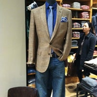 Photo taken at J.Crew Men's Shop by Ted L. on 3/2/2012