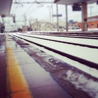 Photo taken at Stazione Rovigo by Francesco C. on 2/1/2012