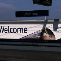 Photo taken at Gautrain Midrand Station by MoFeela on 10/25/2011