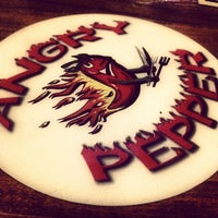 Photo taken at Angry Pepper Smokeshack and Grill by C M. on 5/15/2012